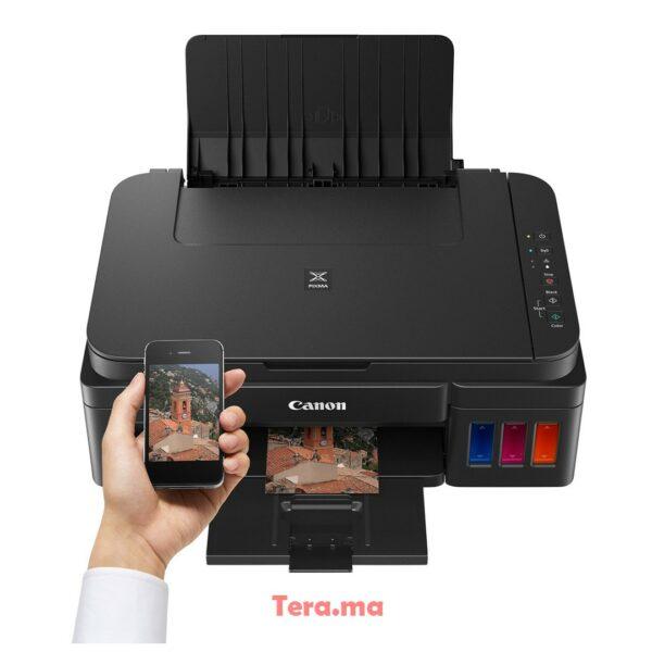 Imprimante, Canon PIXMA, G3411 jet d'encre - Wi-F - Multi 3En1