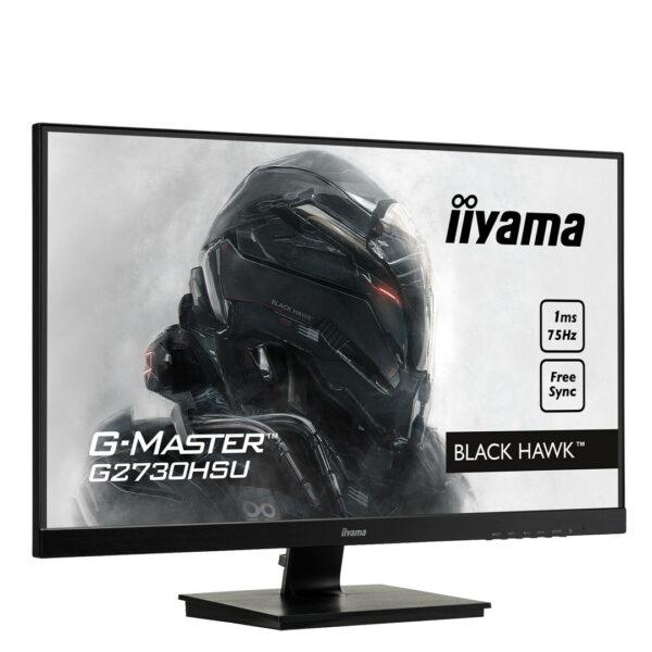 """Ecran PC Gamer - iiYama G-MASTER G2730HSU-B1- 27"""" Full HD, 1ms"""