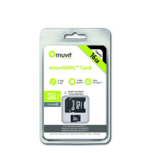Muvit Carte Micro SD 16 GB Class 10