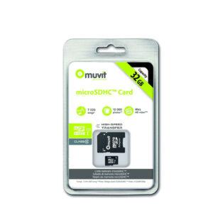 Muvit Carte Micro SD 32 GB Class 10
