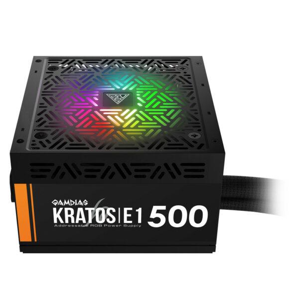 Gamdias Kratos E1-500 RGB - Alimentation PC
