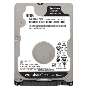 Western Digital WD Black Mobile 500 Go Disque dur interne HDD (WD5000LPLX)