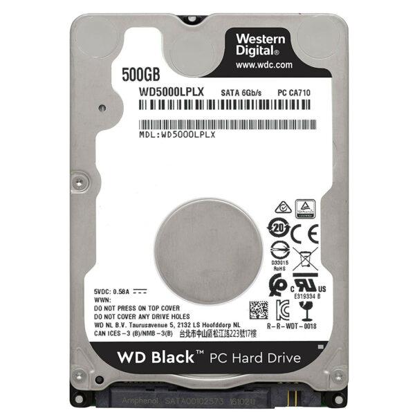 Western Digital WD Black Mobile 500 Go Disque dur interne HDD (WD5000LPLX)