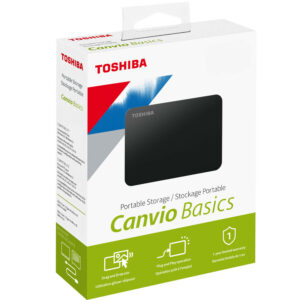 Disque dur externe Toshiba Canvio Basics 2000 Gb USB 3.0 Noir