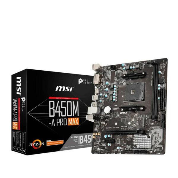 B450M-A Pro Max Carte Mére MSI