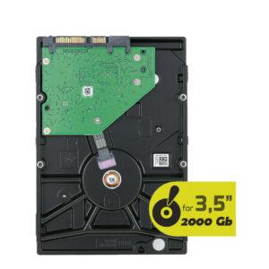 HDD Sata 3.5 2 TB