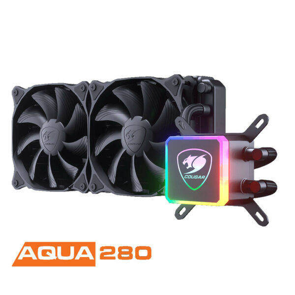 COUGAR AQUA 280 - Kit de Watercooling 280 mm RGB