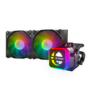 Cougar Helor 240 RGB - CPU Liquide de Refroidissement RGB