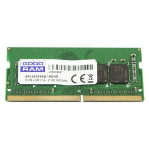 GoodRAM 4GB PC4-21300 SODiMM DDR4 2666Mhz