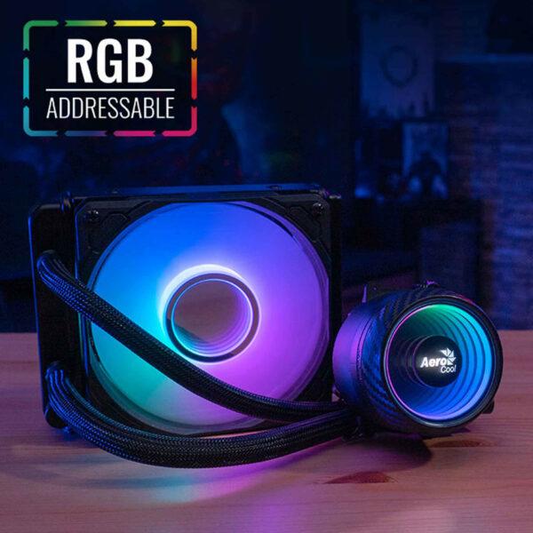 CPU Liquide de Refroidissement RGB Aerocool Mirage L120 - prix maroc