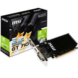 MSI GeForce GT 710 2GD3H LP 2Go
