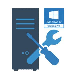 Montage PC Gamer + installation Windows 10 Professionnel 64 bits (licence oem)