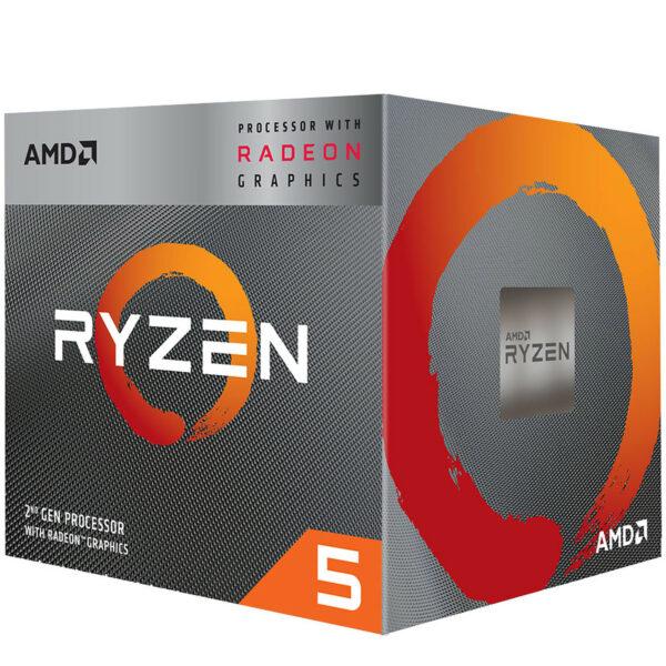 AMD Ryzen 5 3400G Wraith Spire Edition (3.7 GHz / 4.2 GHz)