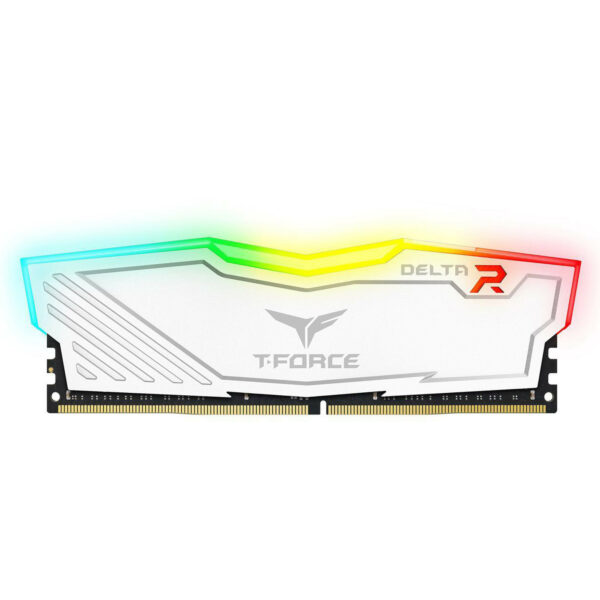 TEAMGROUP T-Force Delta RGB 16GB DDR4 3200 MHz CL16 Blanc