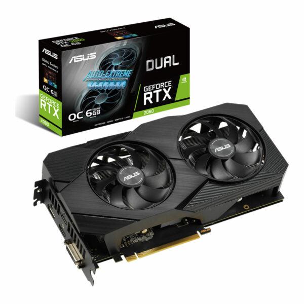 ASUS GeForce® DUAL RTX 2060 O6G - EVO