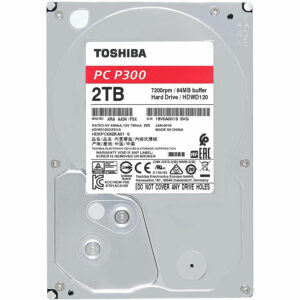 Toshiba P300 2 To Disque dur interne HDD 3.5 SATA III